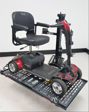 Patriotic Electric Lift Carriers For Scooters And Power Chairs By Wheelchair Carrier