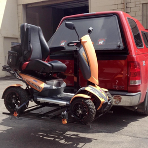 XL4 Electric Lift For Scooters And Power Chairs By Wheelchair Carrier | Wheelchair Liberty