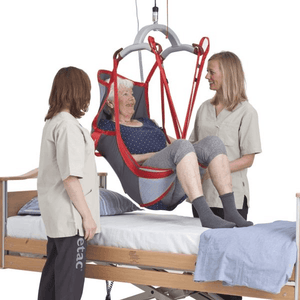 In Bed Use - Molift RgoSling Highback Net - Patient Sling for Molift Lifts by ETAC | Wheelchair Liberty