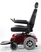 Left View - Gemini Power Wheelchair w/ Seat Lift P3011 by Merits | Wheelchair Liberty