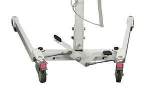 Legs Adjustment Pedal Spread BAse - Protekt® 500 Lift - Electric Hydraulic Powered Patient Lift 500 lb by Proactive Medical | Wheelchair Liberty
