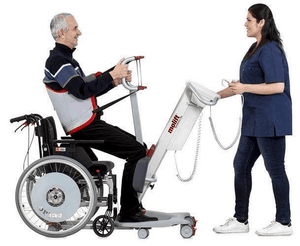 Lift From Wheelchair - Molift Quick Raiser 205 Sit-to-Stand Patient Lift N29000 by ETAC | Wheelchair Liberty