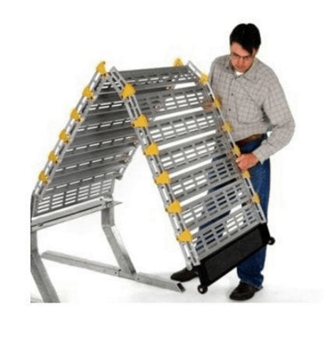 Foldable Design - Manual Folding Van / Vehicle Ramp by Roll-A-Ramp | Wheelchair Liberty