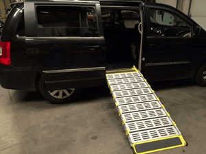 Manual Folding Van Ramp - On Vas Side Door