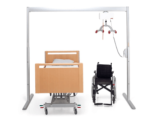 Molift Duo Rail Systemfor Ceiling Lifts Whole Image Feat Bed and Chair