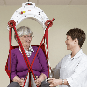 Molift Nomad Patient Ceiling Lift - Carer Use Lady