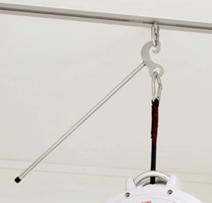Molift Nomad Patient Ceiling Lift - Safety Hook and Trolley