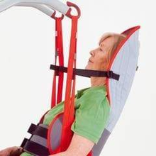 Molift RgoSling Toilet HighBack Padded - Patient Sling for Molift Lifts by ETAC | Wheelchair Liberty