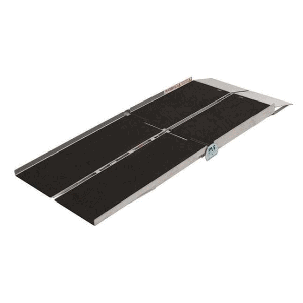 Multifold Reach Portable Entry and Van Ramp
