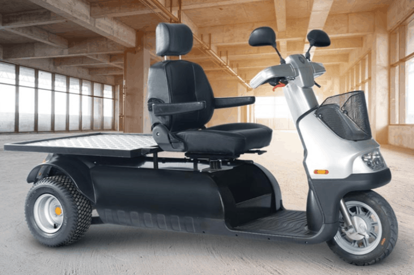 Open Platform - Afiscooter M 3-Wheel Electric Scooter By Afikim | Wheelchair Liberty
