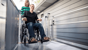 PASSPORT® Vertical Platform Lifts by EZ-ACCESS® - Carer Use | Wheelchair Liberty