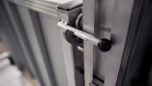 PASSPORT® Vertical Platform Lifts by EZ-ACCESS® - Gate Latch | Wheelchair Liberty