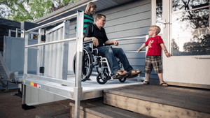 PASSPORT® Vertical Platform Lifts by EZ-ACCESS® - Ramp Lift For Stairs | Wheelchair Liberty