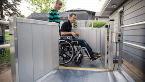PASSPORT® Vertical Platform Lifts by EZ-ACCESS® - Rampway | Wheelchair Liberty