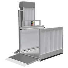 PASSPORT® Vertical Platform Lifts by EZ-ACCESS® - Straight Access | Wheelchair Liberty