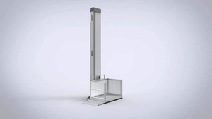 PASSPORT® Vertical Platform Lifts by EZ-ACCESS® - Turn Access | Wheelchair Liberty