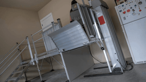 PASSPORT® Vertical Platform Lifts by EZ-ACCESS® - Used For Lifting | Wheelchair Liberty