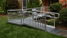 PATHWAY® 3G Modular Access System Wheelchair Ramp - Doorway Side | Wheelchair Liberty