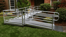PATHWAY® 3G Modular Access System Wheelchair Ramp - L-Shape | Wheelchair Liberty