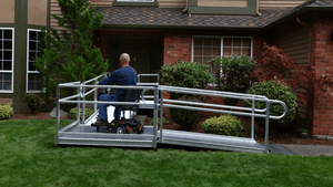 PATHWAY® 3G Modular Access System Wheelchair Ramp - Scooter on 2 | Wheelchair Liberty