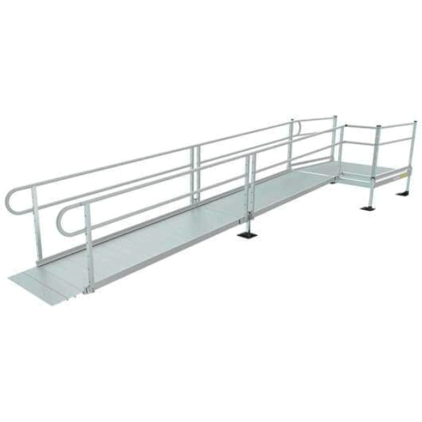 PATHWAY® 3G Modular Access System Wheelchair Ramp - Semi-permanent-ramps | Wheelchair Liberty