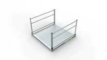 PATHWAY® 3G Modular Access System Wheelchair Ramp - Solid Metal Surface - | Wheelchair Liberty