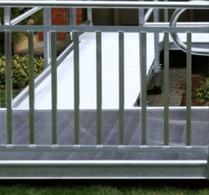 PATHWAY® 3G Modular Access System Wheelchair Ramp - Vertical Solid Variant | Wheelchair Liberty