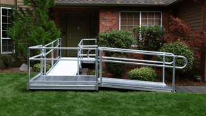 PATHWAY® 3G Modular Access System Wheelchair Ramp - Ramp Doorway | Wheelchair Liberty