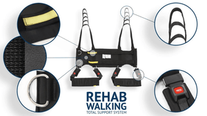 Part Close-Up - Rehab Total Support System Walking Sling By Handicare | Wheelchair Liberty