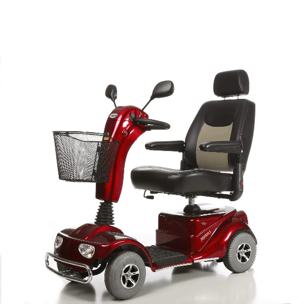 Pioneer 4 Bariatric Electric Scooter S141 - Red