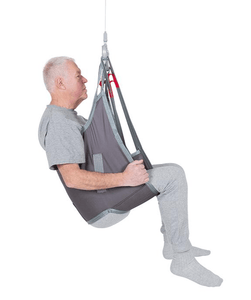Polyester Side View - LowBackSling Universal Slings By Handicare | Wheelchair Liberty