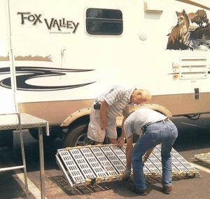 Portable Camper / RV Ramp System - Setting Up