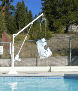 Power EZ 2 Electric Pool Lift by Aqua Creek | Wheelchair Liberty