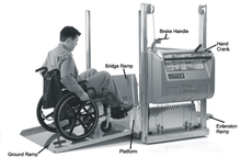 Product Parts - The Mobilift CX Portable Powered Electric Platform Wheelchair Lift by Adaptive Engineering | Wheelchair Liberty