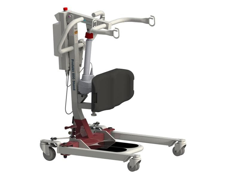 Protekt® 500 Stand - Sit to Stand Electric Hydraulic Powered Patient Lift 500 lb by Proactive Medical - Wheelchair Liberty