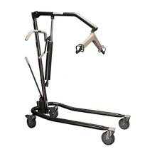 Side View - Protekt Onyx® - Manual Hydraulic Patient Lift 450 lb by Proactive Medical | Wheelchair Liberty