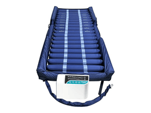 Protekt® Aire 6000AB | Low Air Loss/Alternating Pressure Mattress System with Deluxe Digital Pump | Raised Side Air Bolsters + Cell-On-Cell Support Base
