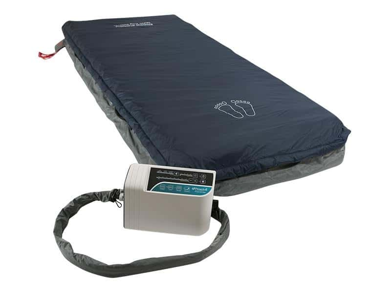 Protekt® Aire 6000 | Low Air Loss/Alternating Pressure Mattress System with Deluxe Digital Pump and Cell-On-Cell Support Base