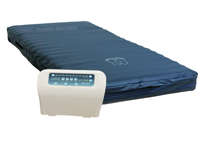Protekt® Aire 6500 | Bariatric Low Air Loss/Alternating Pressure Mattress System by Proactive Medical | Wheelchair Liberty