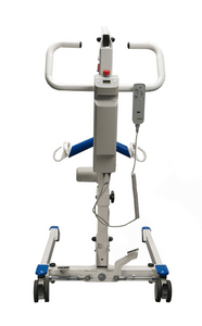 Rear View - Protekt® Take-A-Long - Folding Electric Hydraulic Powered Patient Lift 400 lb by Proactive Medical | Wheelchair Liberty