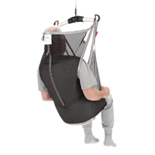 Rear View Polyester Net Divided - FlexibleSling Universal Slings By Handicare | Wheelchair Liberty