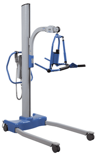 Right View - Hoyer Stature Pro Vertical Lift Electric Patient Lift by Joerns | Wheelchair Liberty