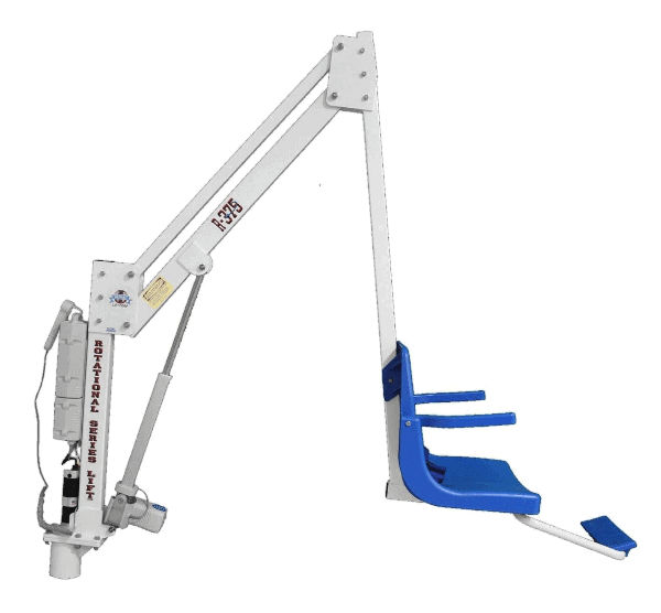 Rotational Series Electric Pool Lift R-375 iIde View