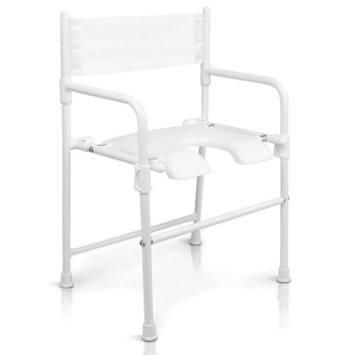 Rufus Plus Shower and Commode Chair Full Image