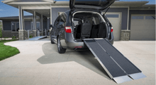 SUITCASE® Singlefold AS Portable Ramps - Car Storage Ramp Side | Wheelchair Liberty