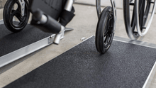 SUITCASE® Singlefold AS Portable Ramps - Slip Resistant Surface  | Wheelchair Liberty