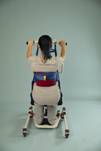 Sani Toileting Slings Woman Using Back View