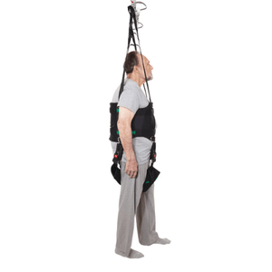 Side View - Rehab Total Support System Walking Sling By Handicare | Wheelchair Liberty