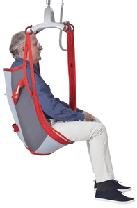 Molift RgoSling Mediumback Net - Patient Sling for Molift Patient Lifts by ETAC | Wheelchair Liberty
