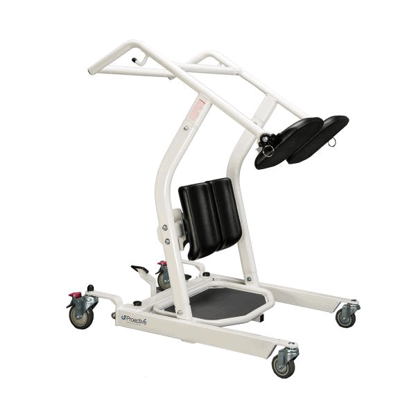 Side View - Protekt® Dash - Standing Transfer Aid - 32500 - By Proactive Medical | Wheelchair Liberty